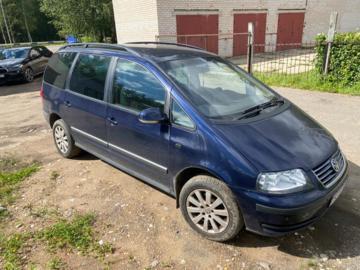 Volkswagen Sharan I · 2-й рестайлинг, 5 мест, 2004 г.