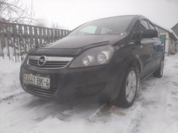 Opel Zafira B · Рестайлинг, 7 мест, 2010 г.