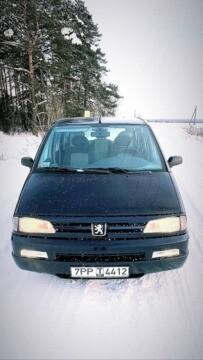 Peugeot 806 221, 5 мест, 1998 г.