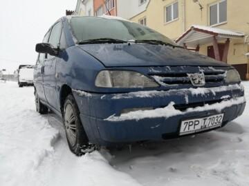 Peugeot 806 221 · Рестайлинг, 7 мест, 1999 г.