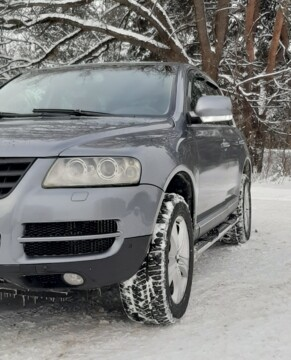 Volkswagen Touareg I, 2004 г.