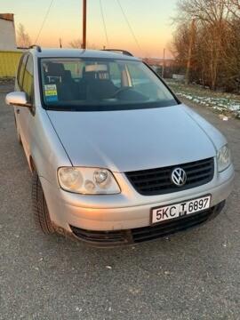 Volkswagen Touran I, 5 мест, 2005 г.