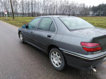 Peugeot 406 I · Рестайлинг, 1999 г.