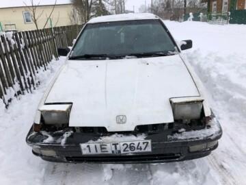 Honda Integra I, 1986 г.