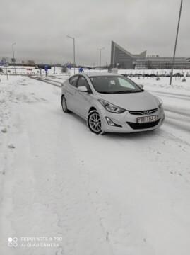 Hyundai Elantra MD · Рестайлинг, 2014 г.