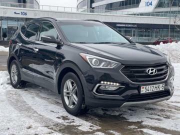 Hyundai Santa Fe DM · Рестайлинг, 5 мест, 2016 г.