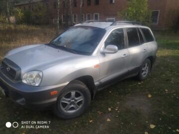 Hyundai Santa Fe SM, 2001г.