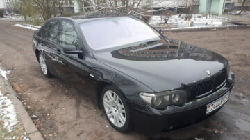 BMW 7 серия E65, 2004 г.