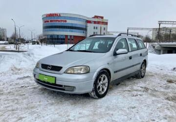 Opel Astra G, 2002 г.