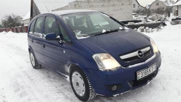 Opel Meriva I · Рестайлинг, 2007 г.