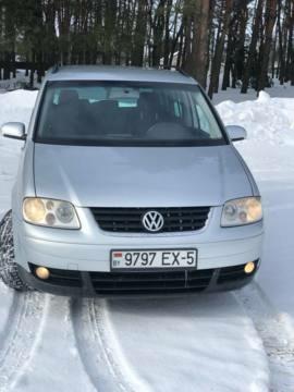Volkswagen Touran I, 5 мест, 2006 г.