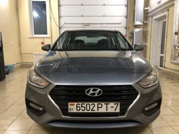 Hyundai Solaris II, 2017 г.