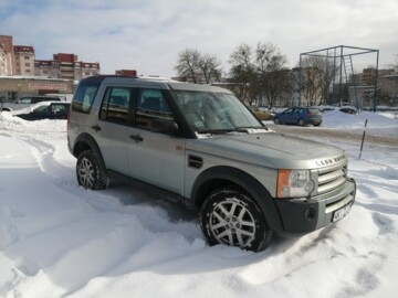 Land Rover Discovery III, 5 мест, 2007 г.
