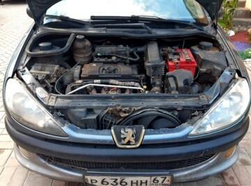 Peugeot 206 I, 2008 г.