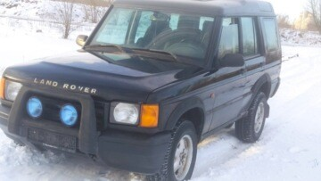 Land Rover Discovery II, 5 мест, 2000 г.