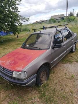 Peugeot 309 I · Рестайлинг, 1992 г.