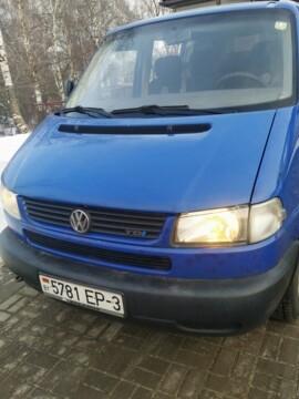 Volkswagen Caravelle T4, 1999 г.