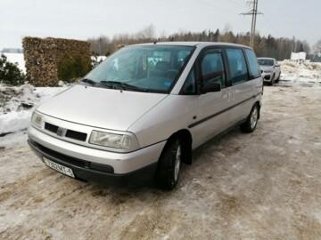 Fiat Ulysse I, 7 мест, 1996 г.