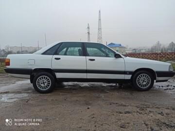 Audi 100 С3 · Рестайлинг, 1989 г.