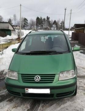 Volkswagen Sharan I · Рестайлинг, 7 мест, 2000 г.