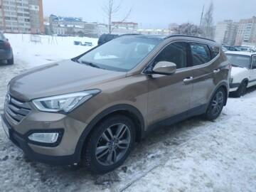 Hyundai Santa Fe DM, 5 мест, 2013 г.