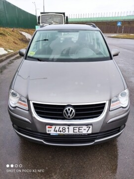 Volkswagen Touran I · Рестайлинг, 5 мест, 2007 г.