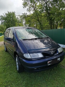 SEAT Alhambra I, 5 мест, 1996 г.