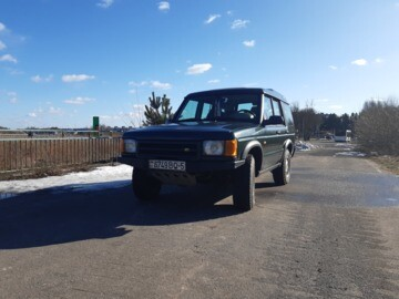 Land Rover Discovery II, 5 мест, 1998 г.