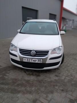 Volkswagen Touran I · Рестайлинг, 2008г.