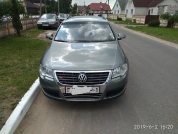 Volkswagen Passat B6, 2007 г.