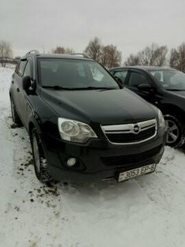 Opel Antara I · Рестайлинг, 2012 г.