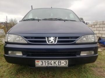 Peugeot 806 221 · Рестайлинг, 7 мест, 2000 г.