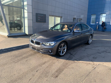 BMW 3 серия F30,F31 · Рестайлинг, 2016 г.