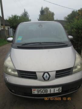 Renault Espace IV, 7 мест, 2002 г.