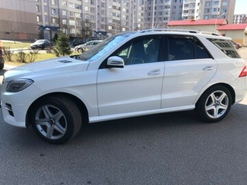 Mercedes-Benz M-Класс W166, 5 мест, 2011 г.