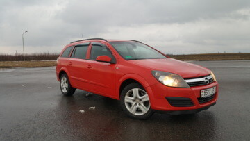 Opel Astra H, 2005 г.
