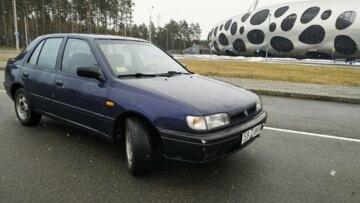 Nissan Sunny N14, 1993 г.
