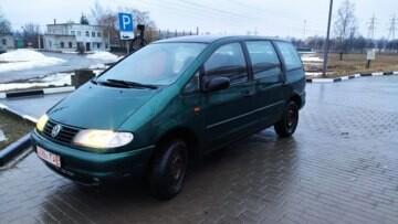 Volkswagen Sharan I, 7 мест, 1997 г.
