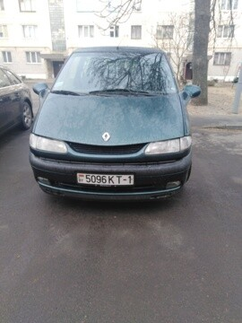 Renault Espace III, 7 мест, 1998 г.