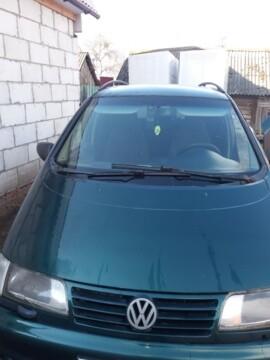 Volkswagen Sharan I, 5 мест, 1997 г.