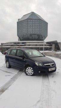 Opel Zafira B, 7 мест, 2005 г.