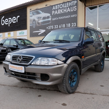 SsangYong Musso II, 5 мест, 2001 г.