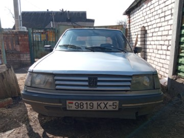 Peugeot 309 I · Рестайлинг, 1991 г.