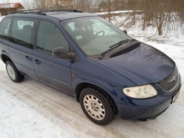 Chrysler Voyager IV, 7 мест, 2001 г.