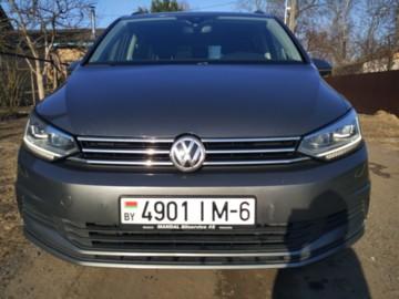 Volkswagen Touran III, 7 мест, 2015 г.