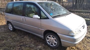 Peugeot 806 221 · Рестайлинг, 5 мест, 2000 г.