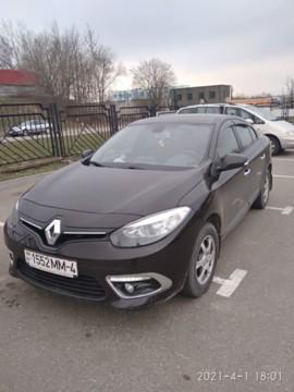 Renault Fluence I · Рестайлинг, 2015 г.
