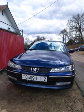 Peugeot 406 I · Рестайлинг, 2000 г.