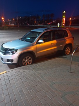 Volkswagen Tiguan I · Рестайлинг, 2013 г.
