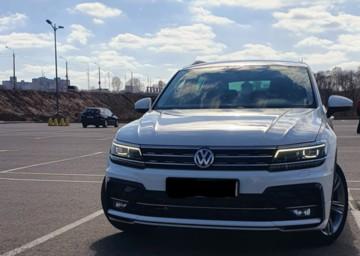 Volkswagen Tiguan II, 2018 г.